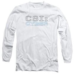Csi: Cyber - Mens Logo Long Sleeve T-Shirt