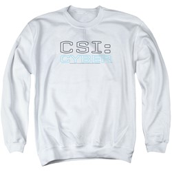 Csi: Cyber - Mens Logo Sweater