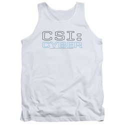 Csi: Cyber - Mens Logo Tank Top
