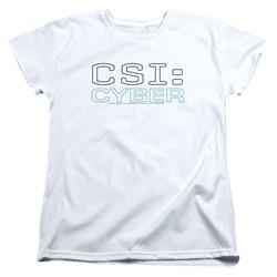 Csi: Cyber - Womens Logo T-Shirt