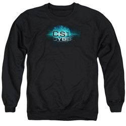 Csi: Cyber - Mens Thumb Print Sweater