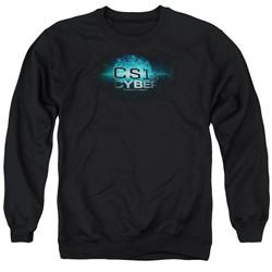 Csi: Cyber - Mens Thumb Print Sweater