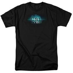 Csi: Cyber - Mens Thumb Print T-Shirt