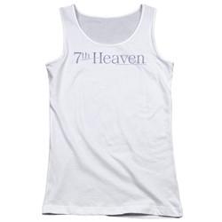 7Th Heaven - Juniors 7Th Heaven Logo Tank Top