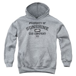 Taxi - Youth Property Of Sunshine Cab Pullover Hoodie
