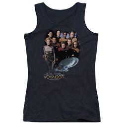 Star Trek - Juniors Voyager Crew Tank Top