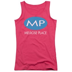 Melrose Place - Juniors Melrose Place Logo Tank Top