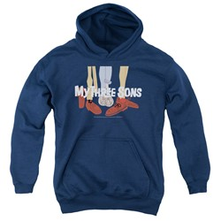 My Three Sons - Youth Shoes Logo Pullover Hoodie