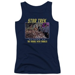 St:Original - Juniors The Trouble With Tribbles Tank Top