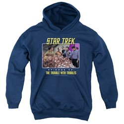 St:Original - Youth The Trouble With Tribbles Pullover Hoodie