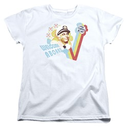 Love Boat - Womens Welcome Aboard T-Shirt