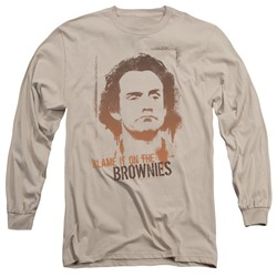 Taxi - Mens Blame It On The Brownies Long Sleeve T-Shirt