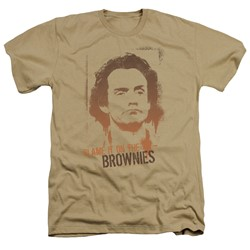 Taxi - Mens Blame It On The Brownies Heather T-Shirt