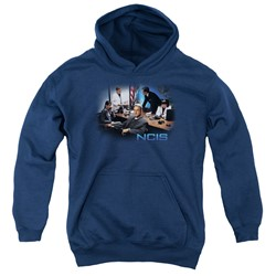 Ncis - Youth Original Cast Pullover Hoodie