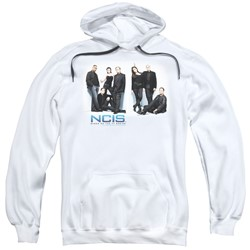 Ncis - Mens White Room Pullover Hoodie