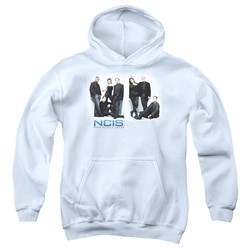 Ncis - Youth White Room Pullover Hoodie