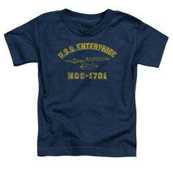 Star Trek - Toddlers Enterprise Athletic T-Shirt