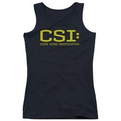 Csi - Juniors Logo Tank Top