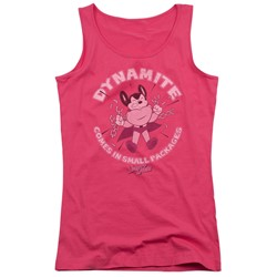 Mighty Mouse - Juniors Dynamite Tank Top