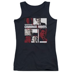 Criminal Minds - Juniors Character Boxes Tank Top
