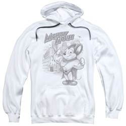 Mighty Mouse - Mens Protect And Serve Pullover Hoodie