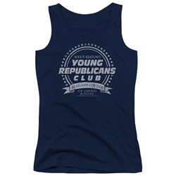 Family Ties - Juniors Young Republicans Club Tank Top