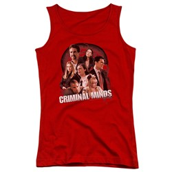 Criminal Minds - Juniors Brain Trust Tank Top