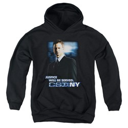 Csi:Ny - Youth Justice Served Pullover Hoodie