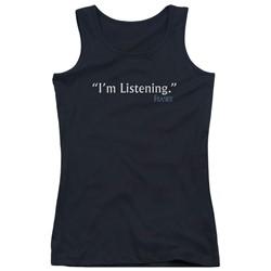 Frasier - Juniors I'M Listening Tank Top
