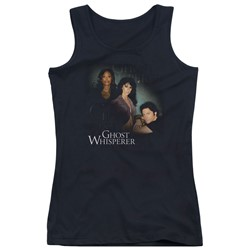 Ghost Whisperer - Juniors Diagonal Cast Tank Top