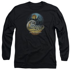 Chicago - Mens Live Long Sleeve T-Shirt