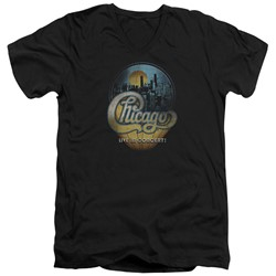 Chicago - Mens Live V-Neck T-Shirt