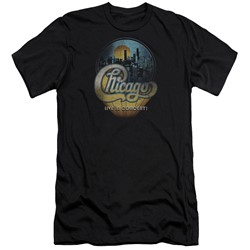Chicago - Mens Live Slim Fit T-Shirt