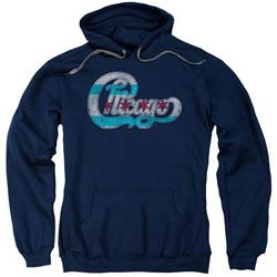 Chicago - Mens Flag Logo Pullover Hoodie