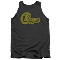 Chicago - Mens Distressed Tank Top