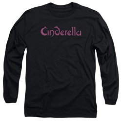 Cinderella - Mens Logo Rough Long Sleeve T-Shirt