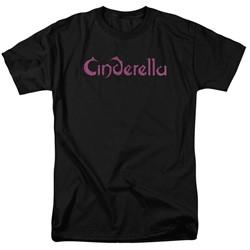 Cinderella - Mens Logo Rough T-Shirt