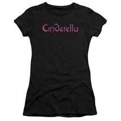 Cinderella - Womens Logo Rough T-Shirt