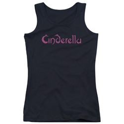 Cinderella - Juniors Logo Rough Tank Top