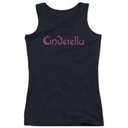 Cinderella - Juniors Logo Rough Tank Top