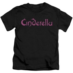 Cinderella - Little Boys Logo Rough T-Shirt