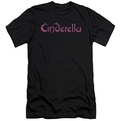 Cinderella - Mens Logo Rough Slim Fit T-Shirt