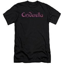Cinderella - Mens Logo Rough Slim Fit T-Shirt