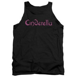 Cinderella - Mens Logo Rough Tank Top