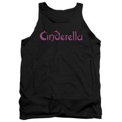 Cinderella - Mens Logo Rough Tank Top