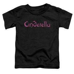 Cinderella - Toddlers Logo Rough T-Shirt