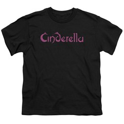 Cinderella - Big Boys Logo Rough T-Shirt