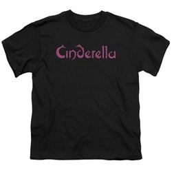 Cinderella - Big Boys Logo Rough T-Shirt