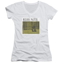 Concord Music - Womens Miles And Milt V-Neck T-Shirt