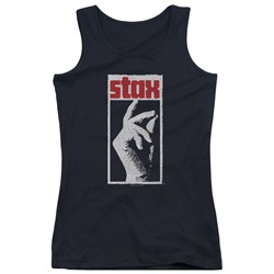 Concord Music - Juniors Stax Distressed Tank Top